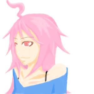 mikiちゃんを描いてみた