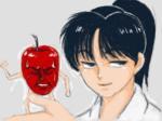 りんごくんと蘭丸