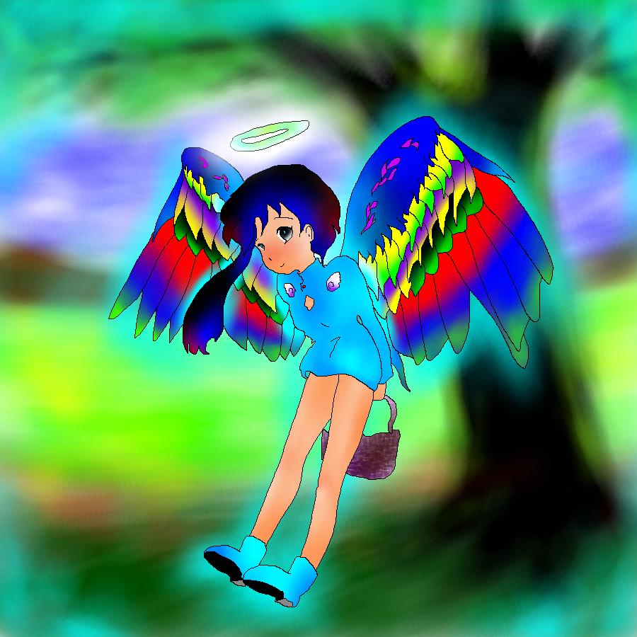 習作:天使ちゃん