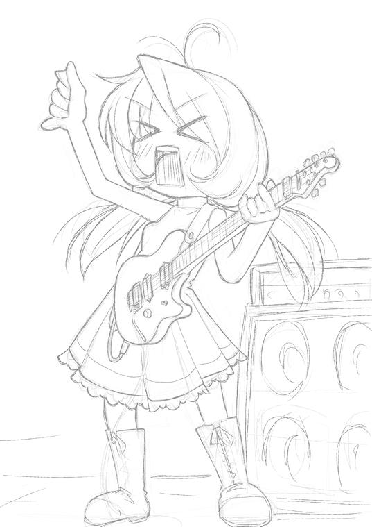 夢月愛沙 愛用ギター