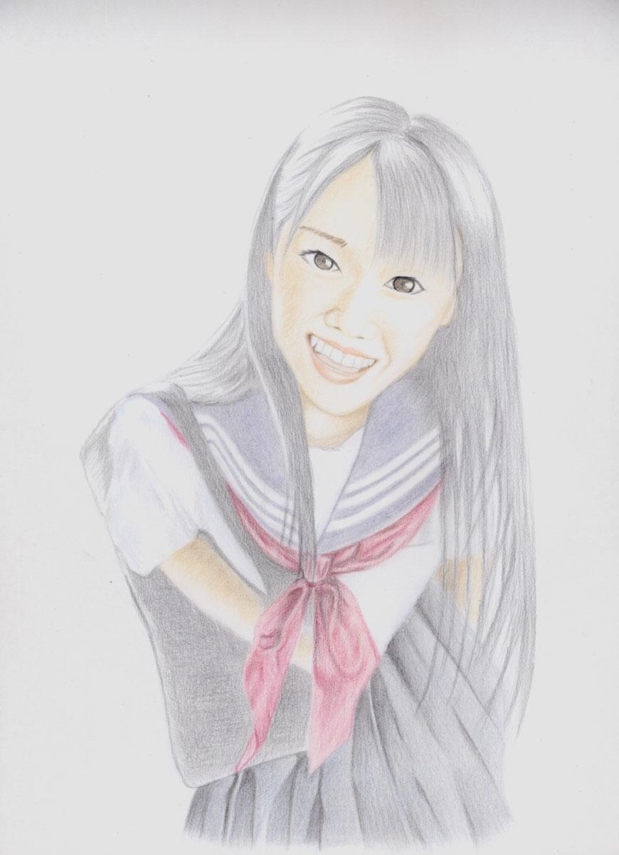 セーラー服少女1(途中)