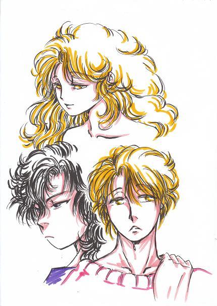 ミカエル女性形と男性形