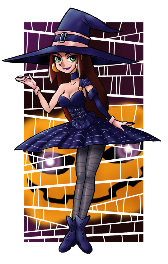 halloween witch その2