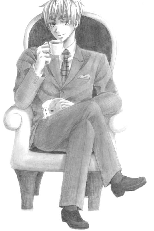 英国紳士。