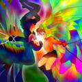 習作:虹の少女と夕闇の少女・禁