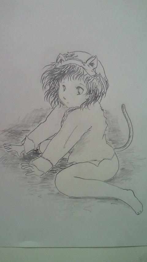 練習:ぬこミミさん3