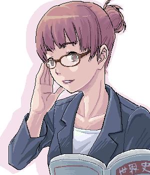 メガネ女教師