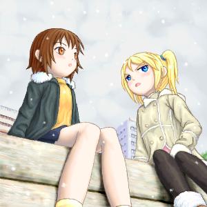 雪が降って・・・