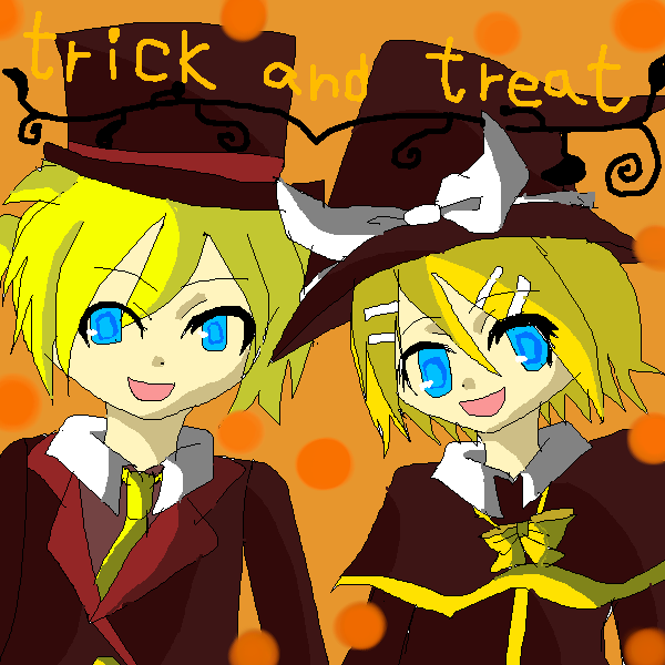 trick  and   treat!!
