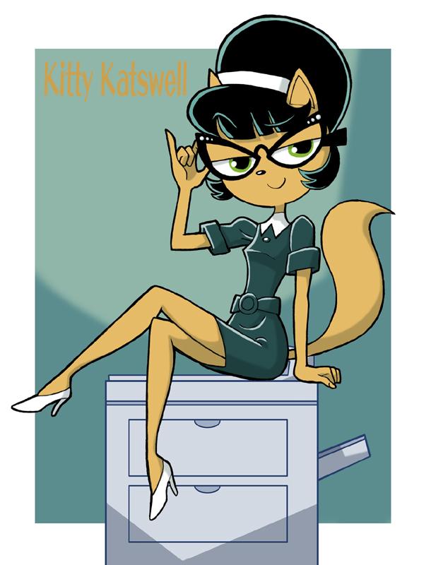 kitty the secretary