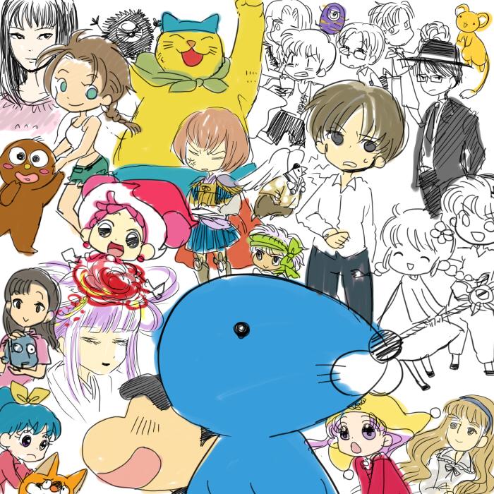 小学校の時好きだった漫画アニメ
