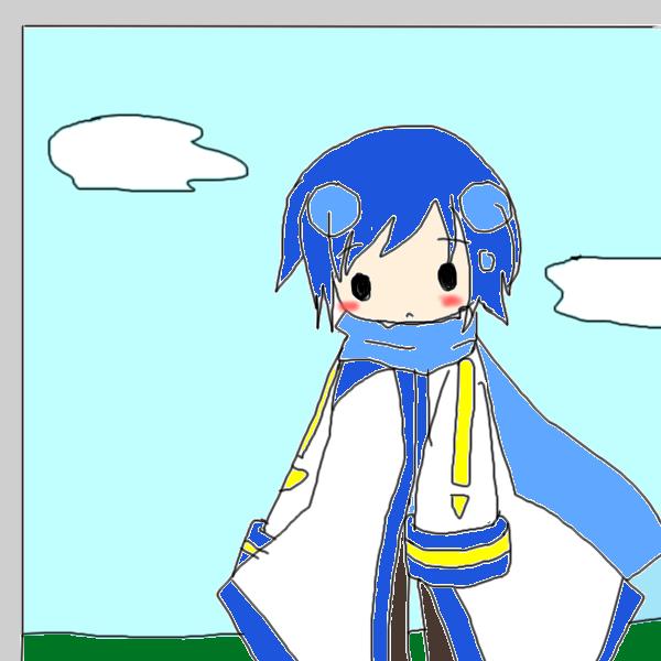 パソコンの中のKAITO