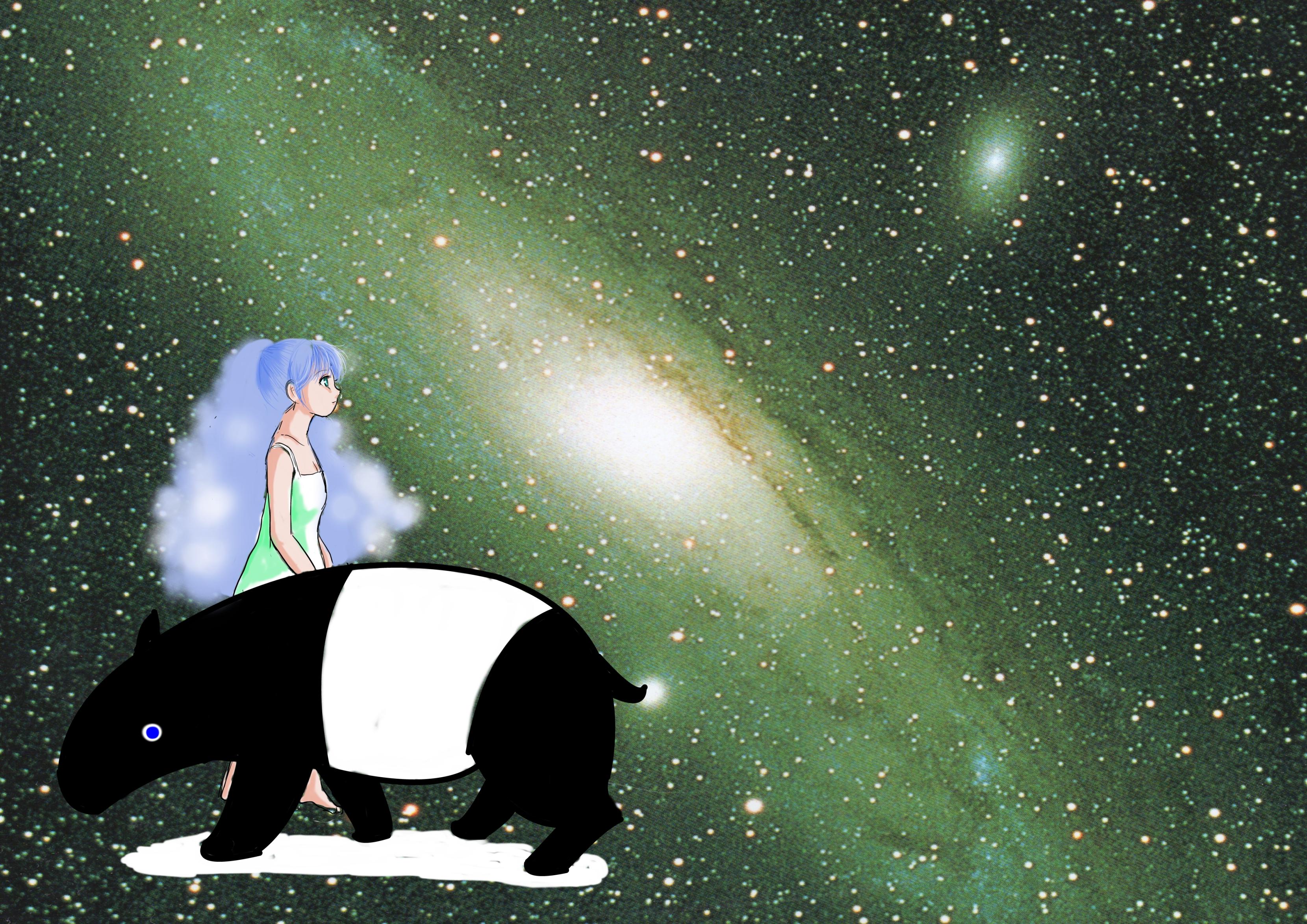 バク+宇宙