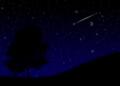 夜空 流れ星付きver.