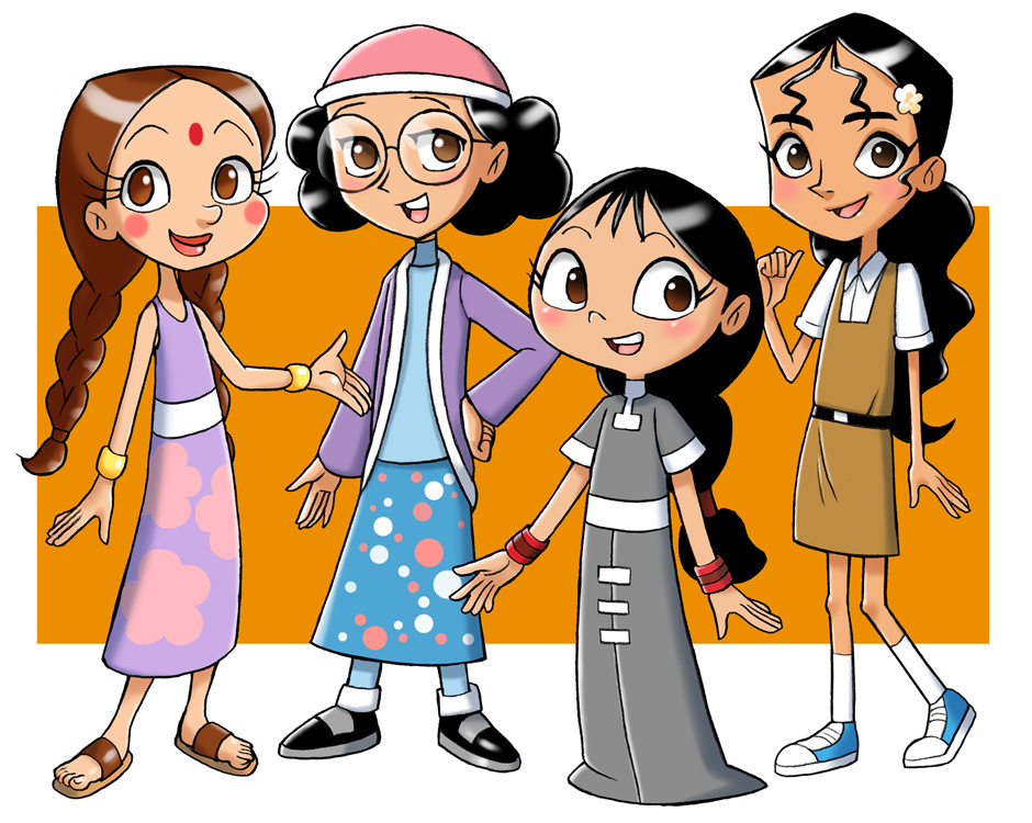 Indian cartoon heroines
