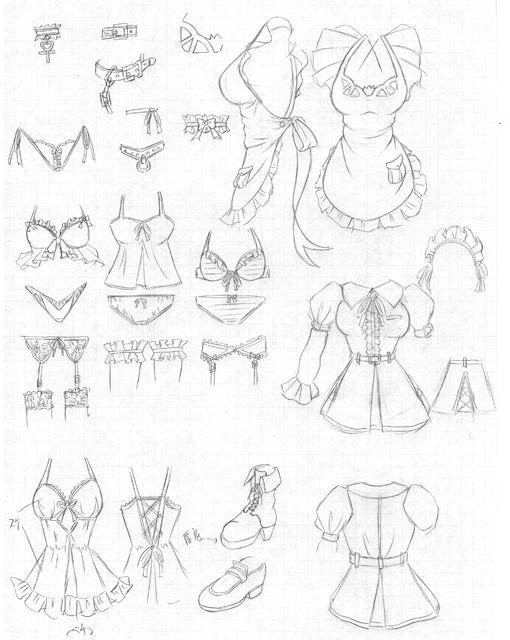 服装デザ案