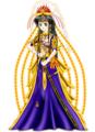 ドレスと和風お姫様
