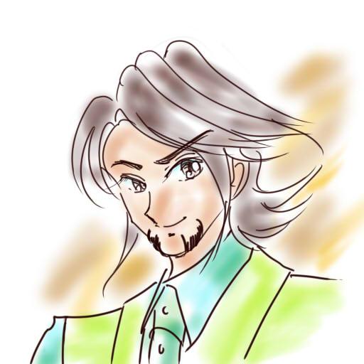 虎徹さんを描いた