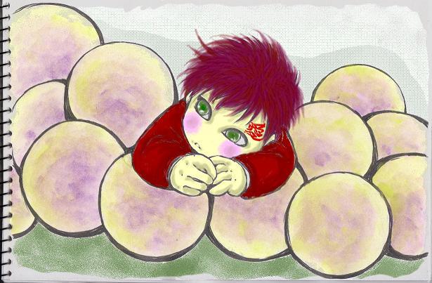 チビと葡萄
