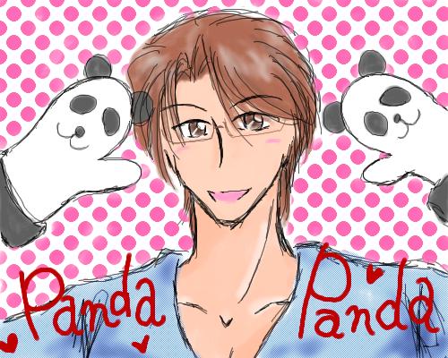 aceさんと、パンダ