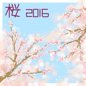 2016桜花爛漫